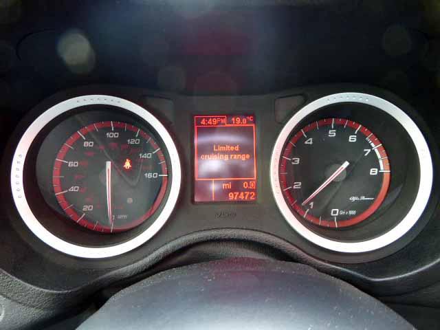 Alfa romeo 159 exhaust sound 12